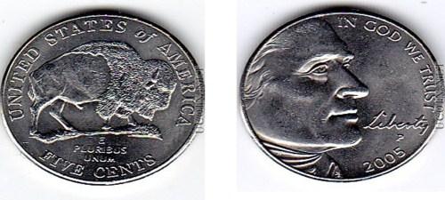 2005 5 Cents Philadelphia Mint U S A Coins Universe